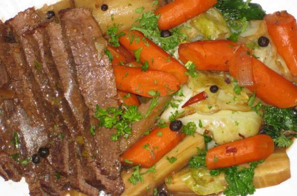 Foodista | Guinness Braised Corned Beef and Cabbage