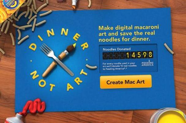 """""""Dinner, Not Art."""" iPad app"""