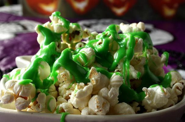Ectoplasm Slimed Popcorn