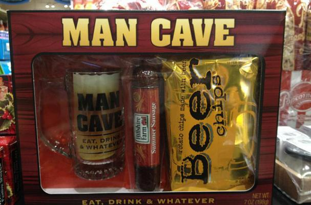 Man Cave Meats : Foodista man cave gift pack is a masculine meal