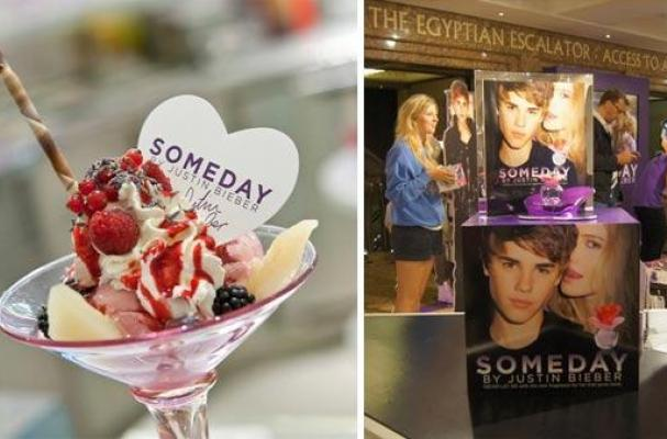 justin bieber someday sundae