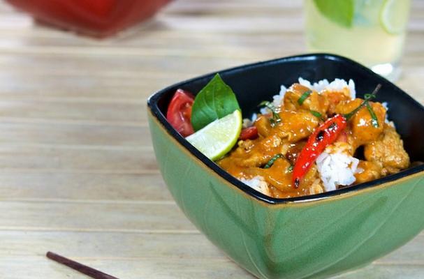 Easy Chicken Coconut Curry