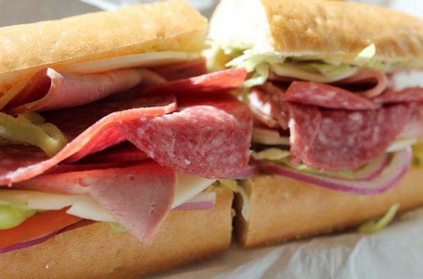 Foodista Super Sandwich Italian Grinder