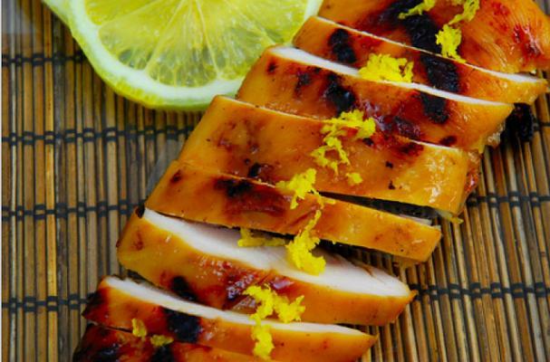 Foodista   Awesome Maple Bourbon Glazed BBQ Chicken Recipe