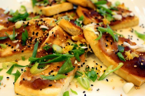 Foodista | Meatless Monday: Easy Miso-Glazed Tofu Steaks