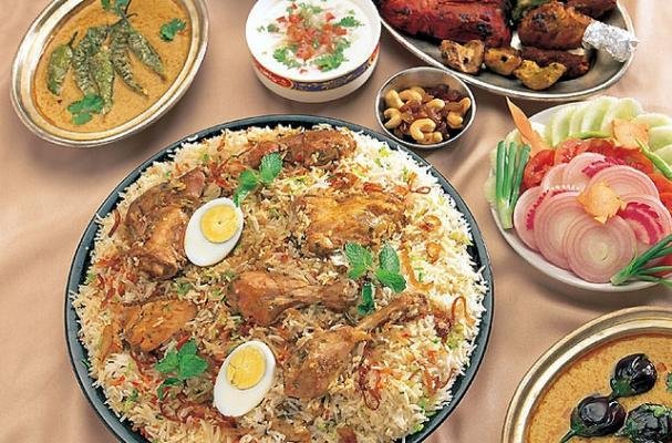 Chicken Biryani with Hard Boiled Eggs