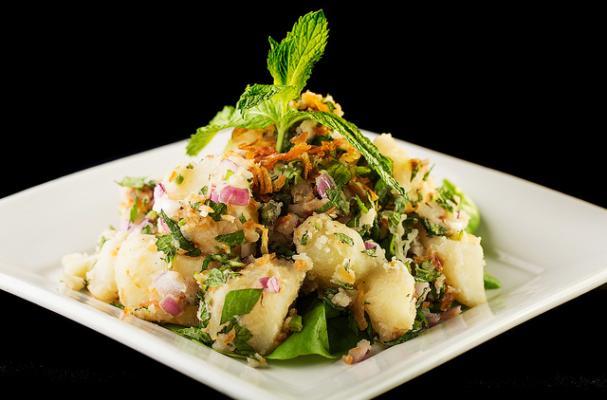 Burmese Potato Salad