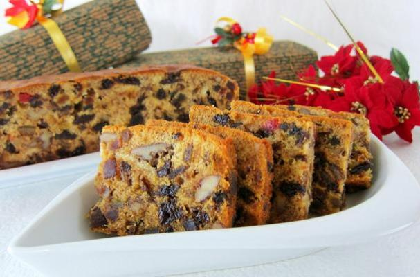 Easy Holiday Fruit Cake Recipe