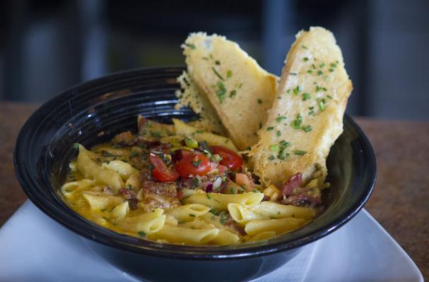Foodista | Comfort Food: Loaded Mac and Cheese