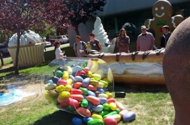 Google Jelly Bean Sculpture