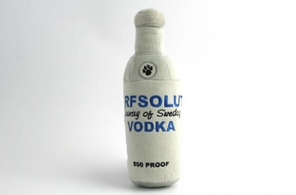 arfsolut vodka plush toy