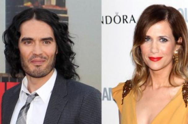 Kristen Wiig and Russell Brand