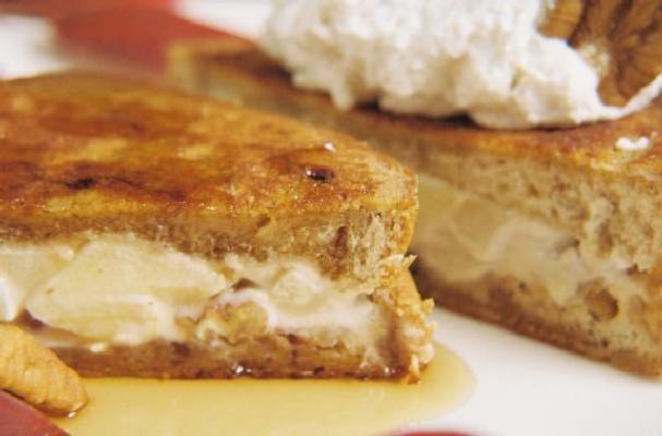 Easter Brunch: Caramel Apple French Toast