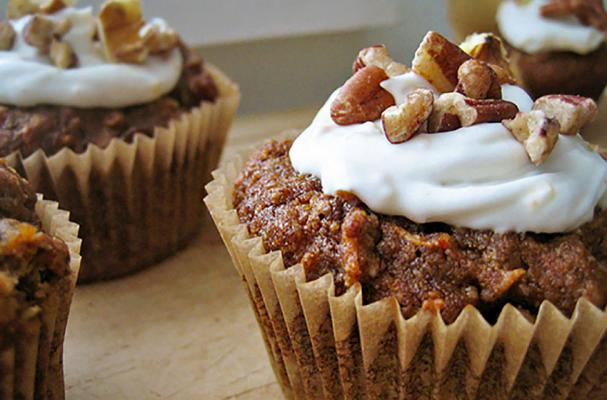 Scrumptious Carrot Quinoa Muffins with Coconut Whip