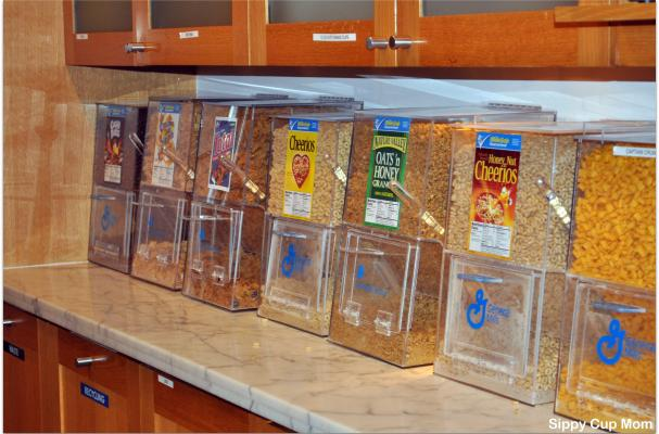 Pixar Cereal Bar Room