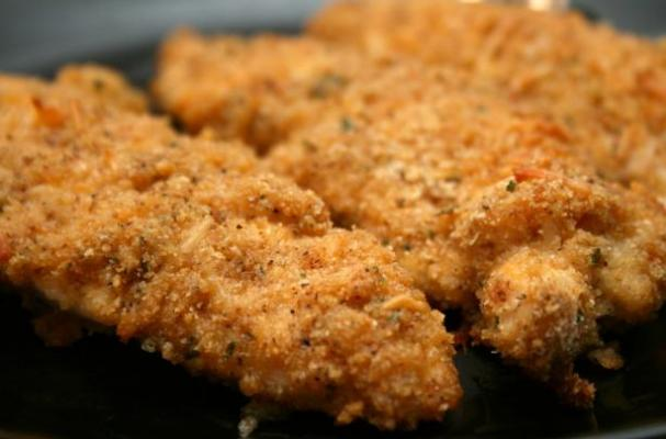 Foodista Amazing Cheddar Garlic Chicken Breast