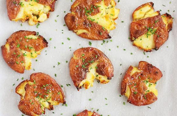 Salt and Vinegar Smashed Potatoes and Other Unforgettable Potato