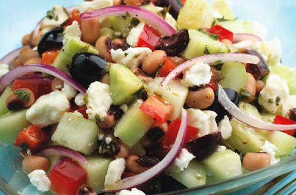 Black-Eyed Pea and Cucumber Salad
