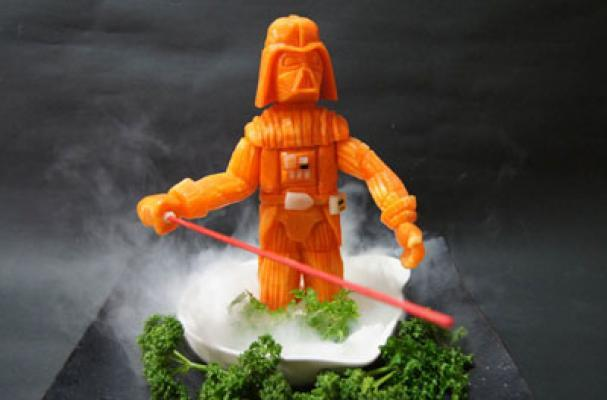 Fun Darth Vader Foods