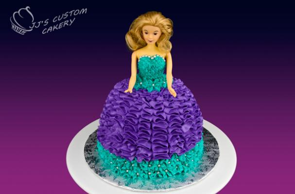 Foodista Amazing Barbie Princess Birthday Cake