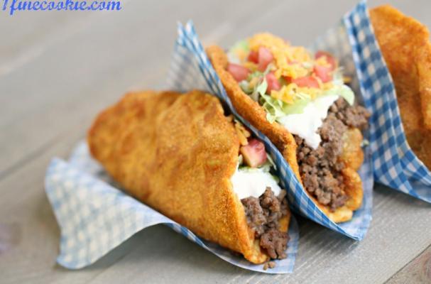 Homemade Doritos Locos Taco Bell Recipe