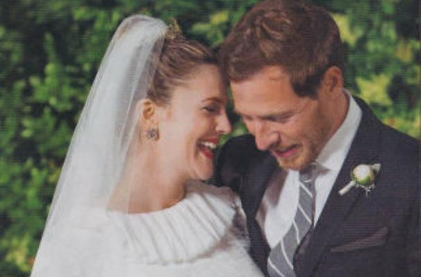 Drew Barrymore Serves Her Own Wine at Wedding