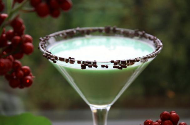 White Chocolate Mint-tini