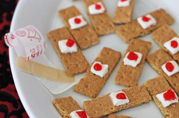 Bloody Bandaid Cookies