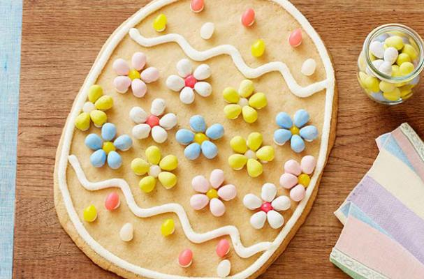 Giant Easter Egg Cookie