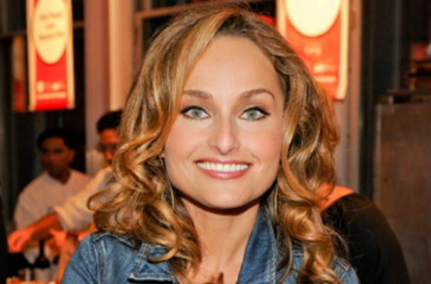 Giada De Laurentiis at the NYC Food and Wine Festival.