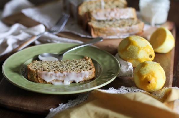 Gluten-Free Lemon Poppy Seed Bread