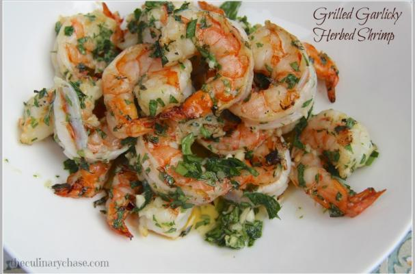 Foodista | Grilled Garlic Herb Shrimp and Other Summer Shrimp Dishes