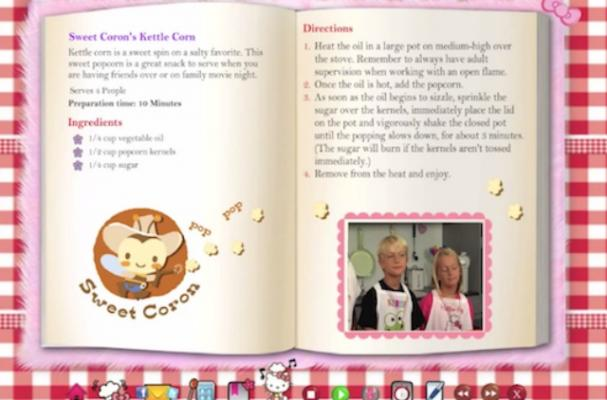 Hello Kitty Interactive Cookbook Operates with Voice Commands