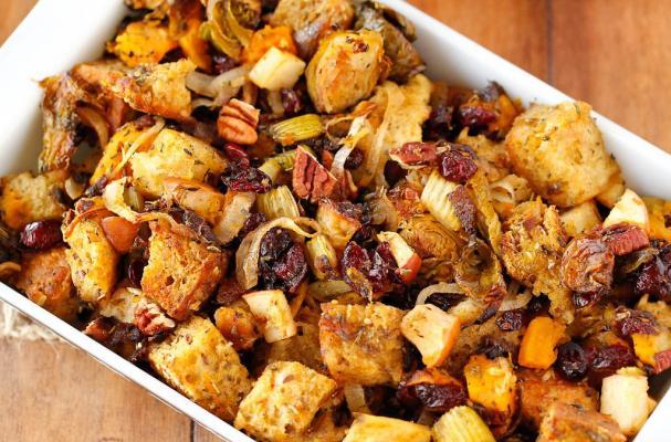 Foodista a vegan thanksgiving 4 stuffing recipes for Vegetarian christmas stuffing