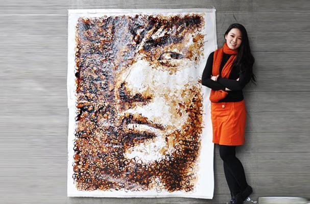 Coffee Stain Portrait
