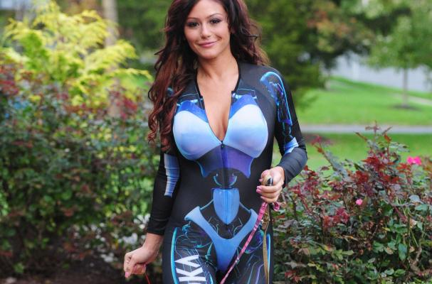 JWoww Svedka Bot Girl Costume