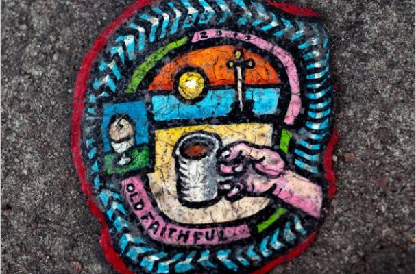 chewing gum paintings