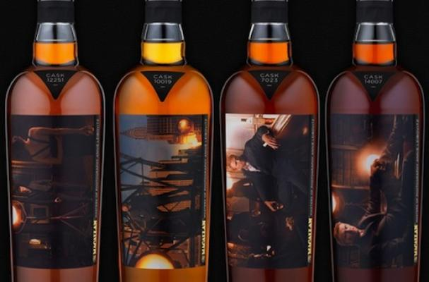 Annie Leibovitz's macallan whiskey
