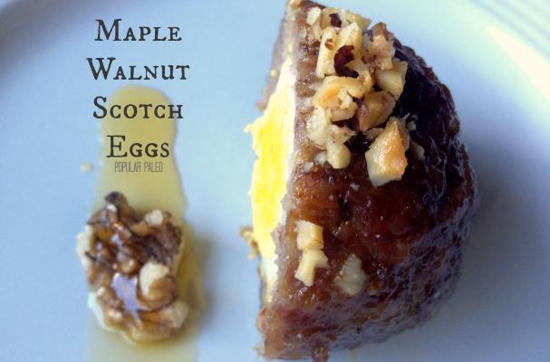 Maple Walnut Scotch Eggs