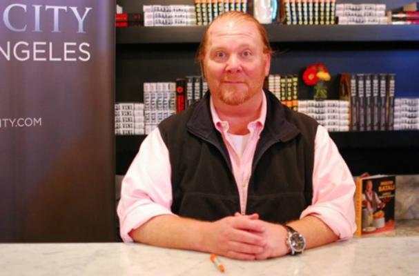 Mario Batali Believes in Eating in Moderation