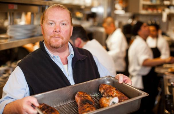 Mario Batali Shares Cold-Weather Parsnips Recipe