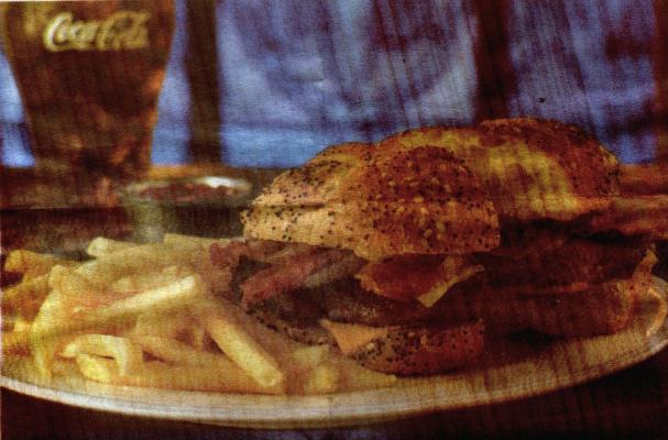McDonald's English Pub Burger