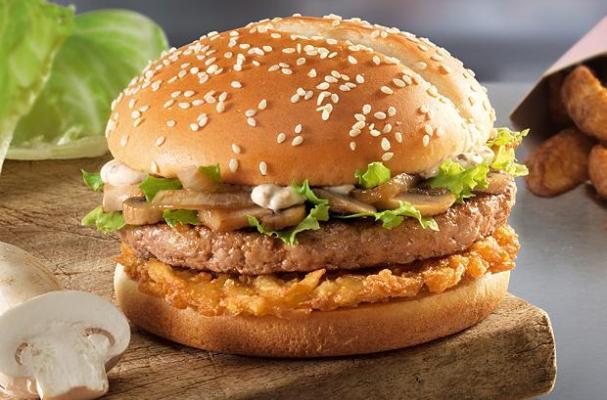 mcdonald's veal burger