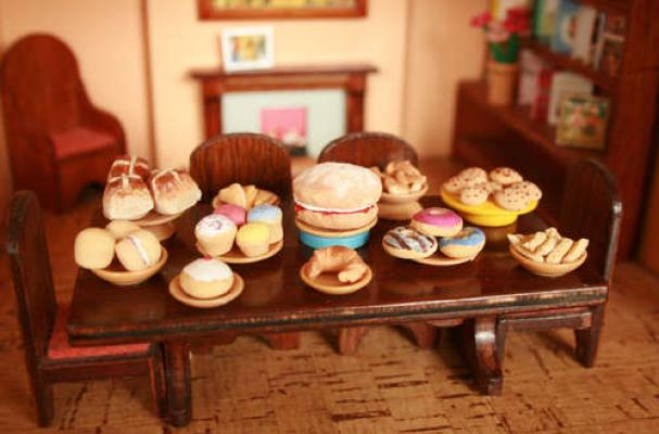 Miniature Salt Dough Food