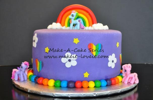 Chicken Little Birthday Cake