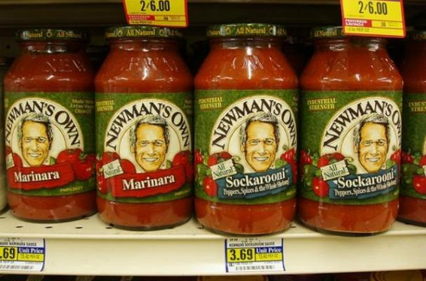 Paul Newman's Pasta Sauce was rated average in a taste test.