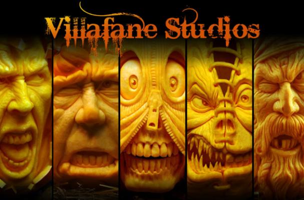 Pumpkin Sculptures by Roy Villafane