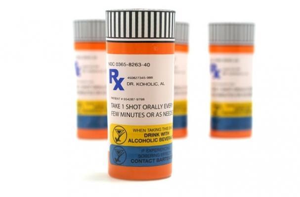 Prescription Rx Shot Glasses