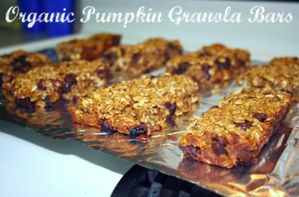 Pumpkin Granola Bars