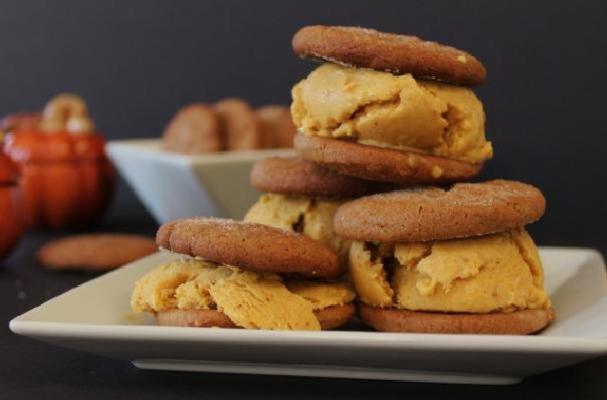 ice cream banana cookies and bourbon ice cream sandwiches recipe ...